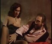Heiße Simona Valli und der bärtige Mann