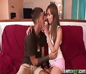 Primeira cena pornô dum casal amador
