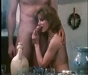 Orgie au bar
