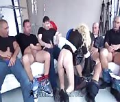 Gangbang with the Russian Lola Taylor