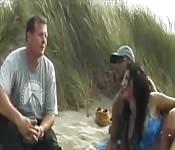 Un voyeur rejoint un couple d'Hollandais