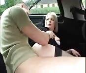 Ficando com tesão no carro