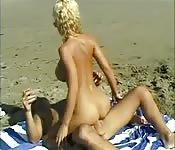 Ujeżdżanie na plaży