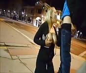 Pipe dans la rue