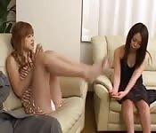 Anal et DP avec deux jeunes filles japonaises
