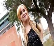 Leyla Black in der Öffentlichkeit gefickt