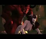 Grande demônio fodedor