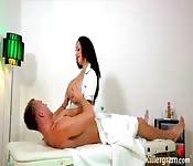 Sexe après le massage