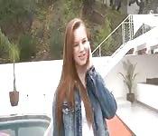 Premier anal de Jillian