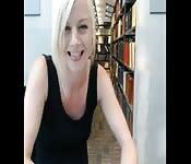 Spaß in der Bibliothek