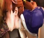 Best Japanese Anime cartoon sex show