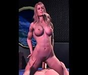 Femme amazone bonne en 3D