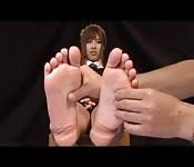 Mit den Füßen zum Orgasmus