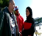 Estudante árabe em Barcelona