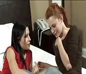 Rebeca Linares lernt Englisch