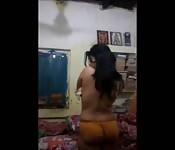 Teen strips on webcam