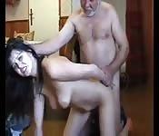 Punishing her daughter