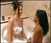 A bath of pleasure