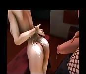Futanaria sin censura en 3D