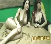 Duas vadias brasileiras