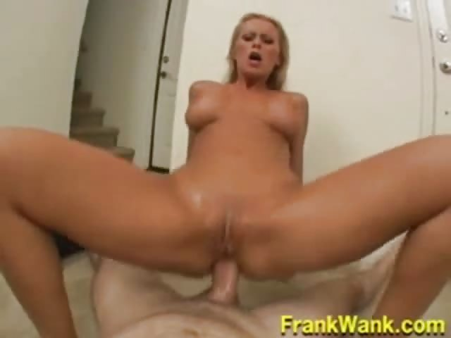 Cum licking slut
