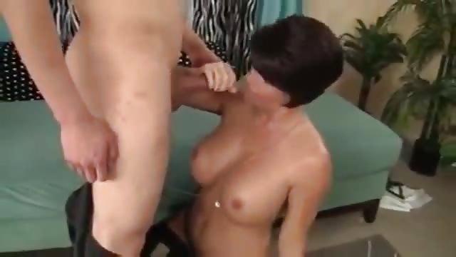 Hot mom fucks stepson