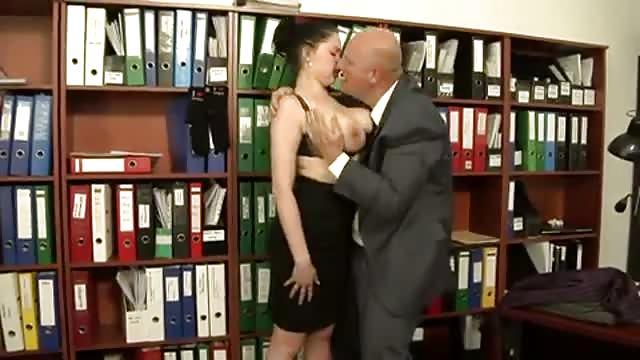 Shione Cooper is a megabusty secretary