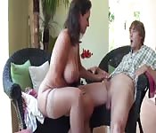 Stepmom and stepson affair