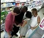 Putaria no supermercado