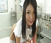 Beautiful Japanese nurse