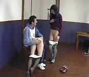 Physischer Bestrafungs-Spaß