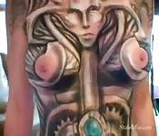 A mulher biomecânica