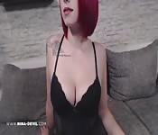 Amateur Teen Fetisch Video NinaDevil