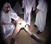 Wildes und merkwürdiges BDSM draußen