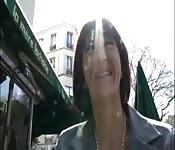Gouvernante française baisée par une grosse queue black