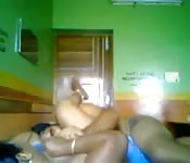 Newly married couple get banging for the first time