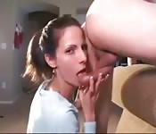 Blowjob with Horny Lady