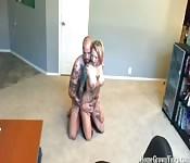 Tätowiertes Paar beim Ficken