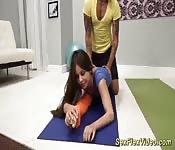 Muñeca Lucy follada como una contorsionista