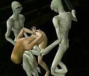 Bondage hentai em 3D
