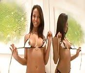 Double pénétration pour Marcellinha Moraes