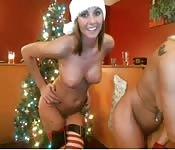 Weihnachts-Lesben