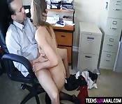 Hot secretary get fucked