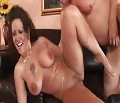 Mature couple go at it