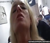 Flying in the cock