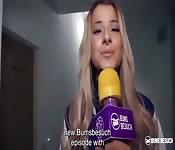 Das Amateur Luder dreht Porno zum ersten Mal