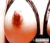 Tit big natural tits & Nipple Collection 1