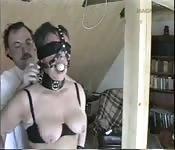 Sexo BDSM muito forte
