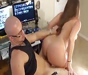 Amazing anal and cock riding fucking