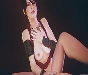 Masturbação incrível hentai em 3D